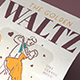 Waltz Dance Flyer