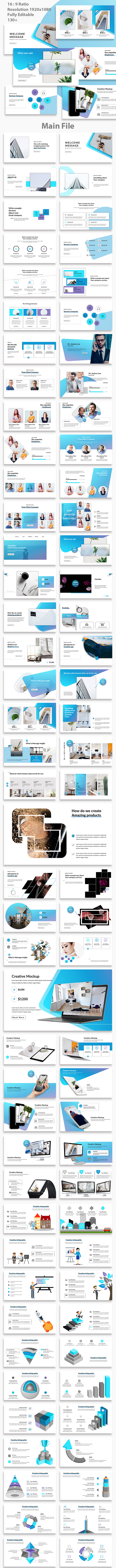 Ending Creative PowerPoint Template - Creative PowerPoint Templates