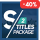 Selected Titles 2 | 50 Minimal Titles - VideoHive Item for Sale
