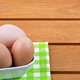 Eggs in a porcelain bowl  - PhotoDune Item for Sale