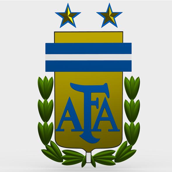 argentina logo - 3DOcean Item for Sale