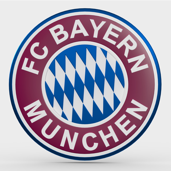 bayern munchen logo - 3DOcean Item for Sale