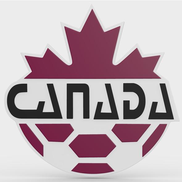 canada logo - 3DOcean Item for Sale