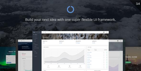 Image of OneUI - Bootstrap Admin Dashboard Template + UI Framework + AngularJS