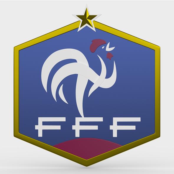france logo - 3DOcean Item for Sale