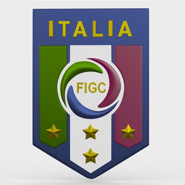 italia logo - 3DOcean Item for Sale