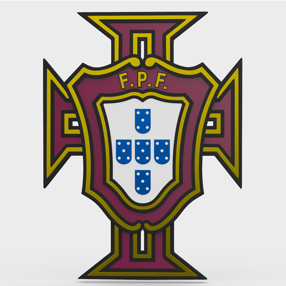 portugal logo - 3DOcean Item for Sale