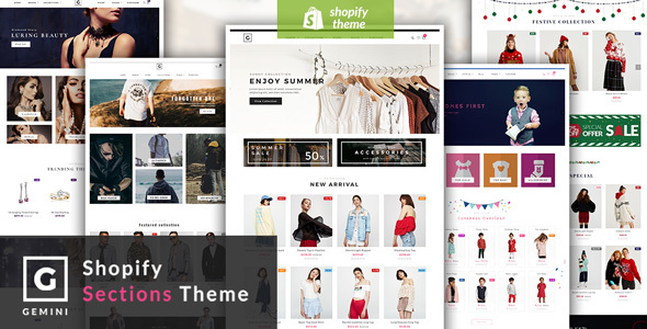 Image of Gemini - Responsive Shopify Fashion Theme