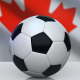 Soccer Ball with Canada Flag