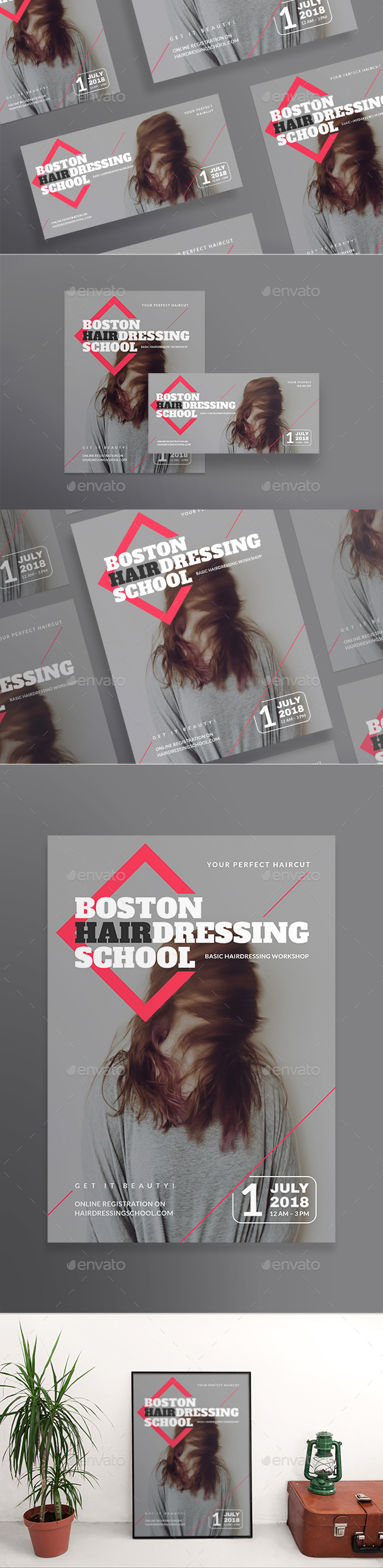 Hairdressing School Flyers - Miscellaneous Events