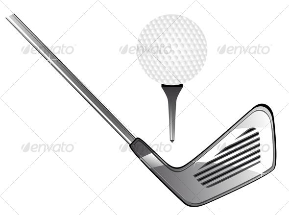 Golf equipment - Sports/Activity Conceptual