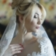 Gorgeous Bride Smiles at Camera in Bedroom - VideoHive Item for Sale