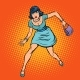 Woman with a Bag Running - GraphicRiver Item for Sale
