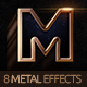 Black & Metal 3D - 8 PSD Cinematic Effects - GraphicRiver Item for Sale