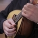 Mandolin an Italian Man Hands Player - VideoHive Item for Sale