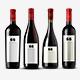 Premium Wine Bottles Mockup