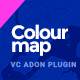Colour Map |  Google Maps addon for Visual Composer - CodeCanyon Item for Sale