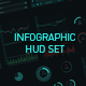 Infographic HUD set - VideoHive Item for Sale