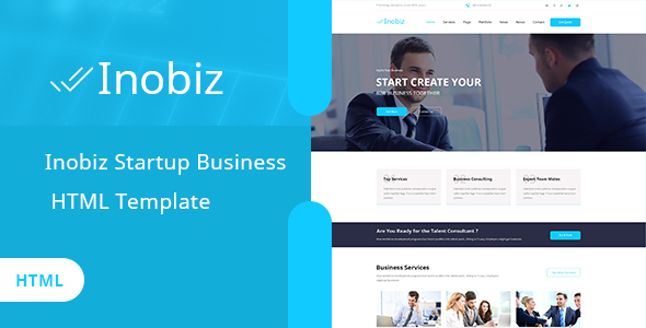Image of Inobiz - Startup Business and Agency HTML Template