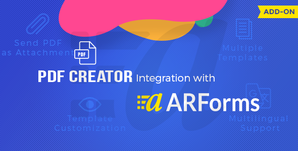 Pdf creator for Arforms - CodeCanyon Item for Sale