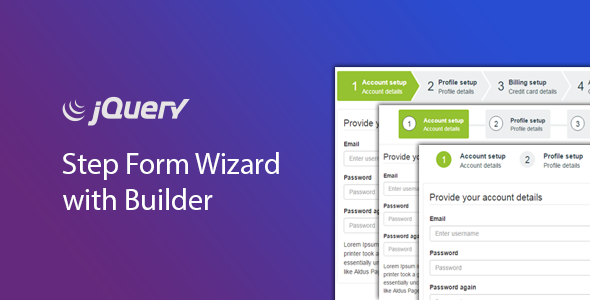 jQuery Step Wizard with Step Form Builder - Timon Step Form - CodeCanyon Item for Sale