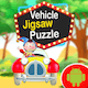 Kids Vehicle Jigsaw Puzzle Game - Android Studio - Kids Game - Ready For Publish