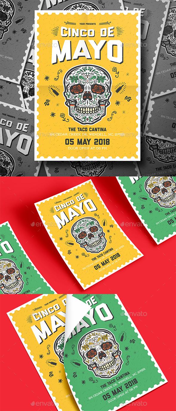 Cinco De Mayo Flyer - Events Flyers