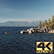 Lake Tahoe Rocks Fly Over - VideoHive Item for Sale