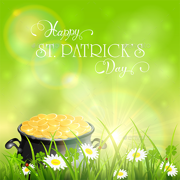 Patrick Day Background - Miscellaneous Seasons/Holidays