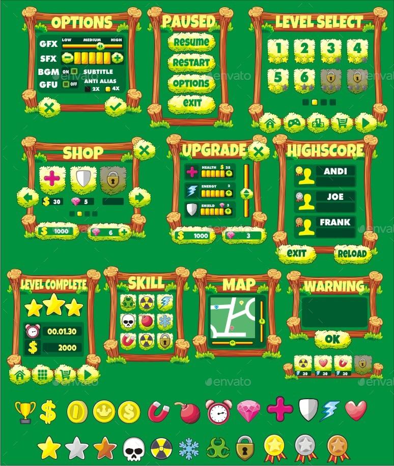 Farm Game Gui Pack