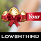 Golden Easter Egg Lower Thirds - VideoHive Item for Sale