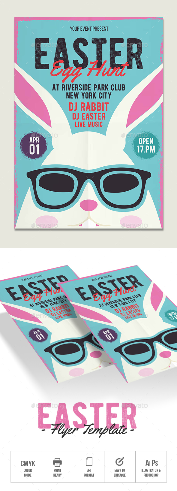 Easter Flyer - Flyers Print Templates