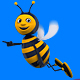 Flying Bee Cartoon 3d Character (2-Pack) - VideoHive Item for Sale