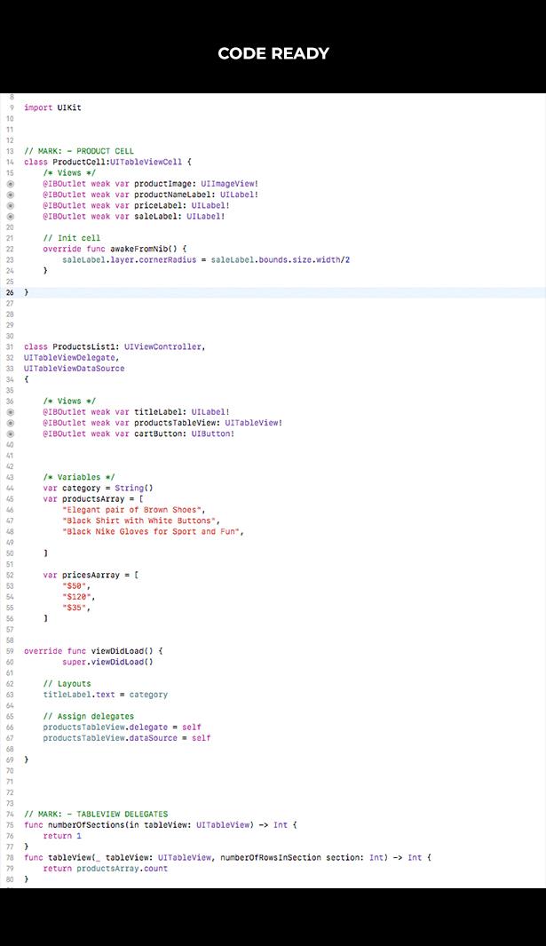 Lorem | iOS Universal UI Kit Design Template (Xcode project)