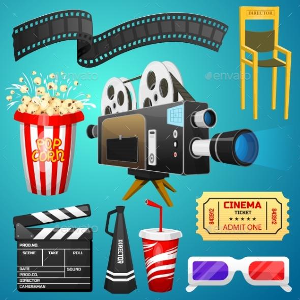 Movie Elements Set - Miscellaneous Vectors
