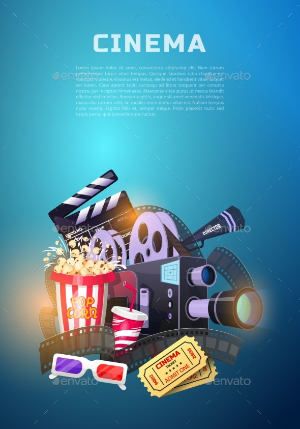 Movie Elements Set - Miscellaneous Vectors