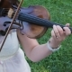 of Musician Playing Violin, Classic Music - VideoHive Item for Sale
