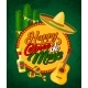 Cinco De Mayo Banner with Fiesta Party Symbols - GraphicRiver Item for Sale