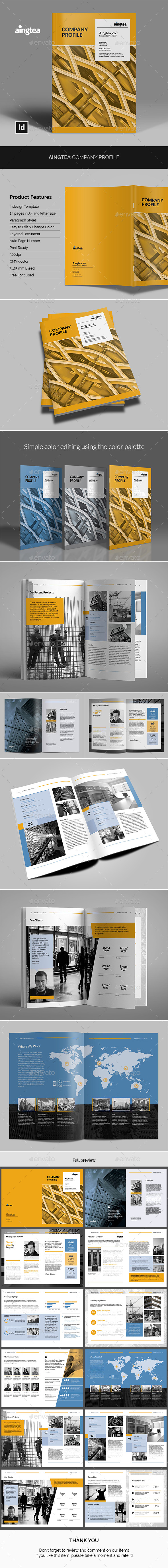 Aingtea Company Profile - Corporate Brochures