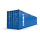 45 feet High Cube PIL shipping container - 3DOcean Item for Sale
