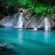 Jangle landscape with Erawan waterfall. Kanchanaburi, Thailand - PhotoDune Item for Sale
