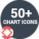 50+ Chart Icons - VideoHive Item for Sale