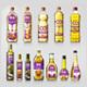 Cooking Oil & Olive Oil Bottle Mockup - GraphicRiver Item for Sale