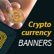 Cryptocurrency Banners - GraphicRiver Item for Sale