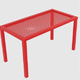 Wireframe Table - 3DOcean Item for Sale