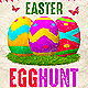 Easter Egg Hunt Holiday Event Flyer