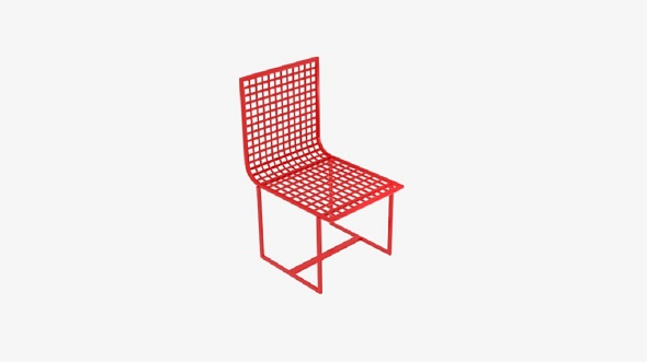 Wireframe Chair - 3DOcean Item for Sale