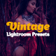 16 Vintage Lightroom Presets