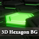 3d Hexagon Background