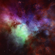 Nebula Space Environment HDRI Map 013 - 3DOcean Item for Sale